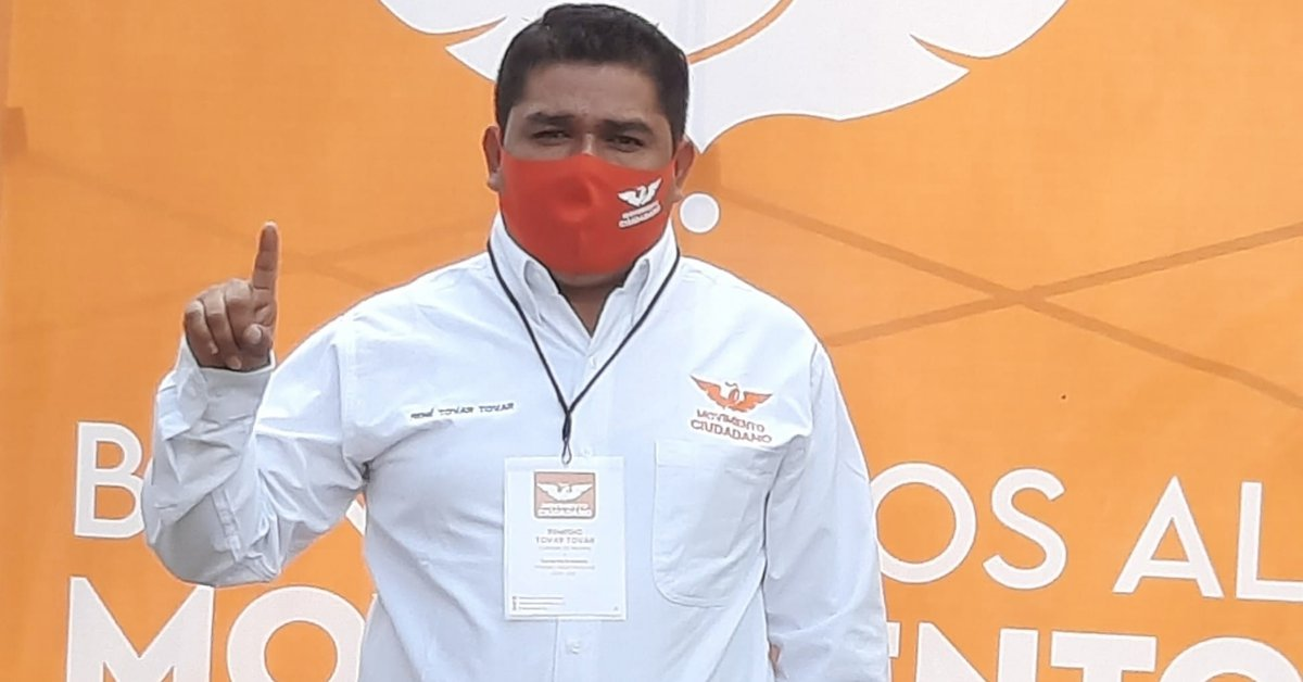 They assassinated René Tovar, Citizen Movement candidate in Cazones de Herrera, Veracruz