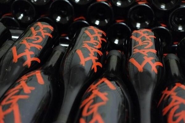 """Una de las cuvée más prestigiosas de Frank se llama """"Magma"""", y obviamente se refiere a la lava"""