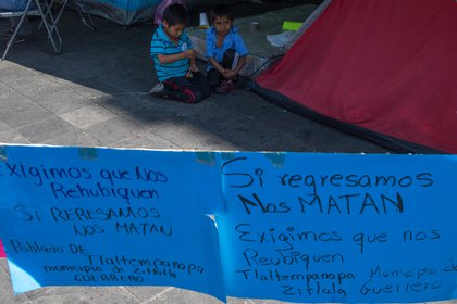 Prácticamente todo el territorio vive una crisis histórica de desplazamiento forzado interno (FOTO: MOISÉS PABLO /CUARTOSCURO.COM)