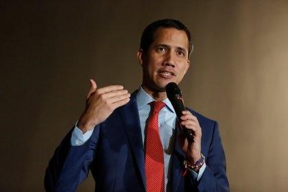El presidente encargado de Venezuela, Juan Guaidó