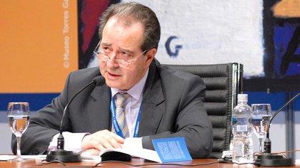 José Luis Machinea, ex ministro de Economía radica, uno de los firmantes