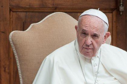El papa Francisco dio una entrevista al Tg5, el noticiero del canale 5 de Italia.