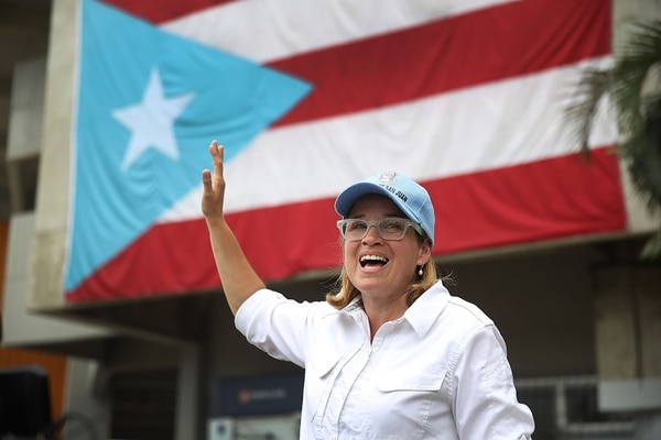 Carmen Yulin Cruz, alcaldesa de San Juan de Puerto Rico (Getty Images)