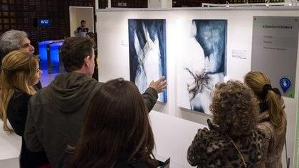 """La muestra se exhibe en el Espacio de Arte del Banco Ciudad """"Caja de Cristal""""(Martín Rosenzveig)"""