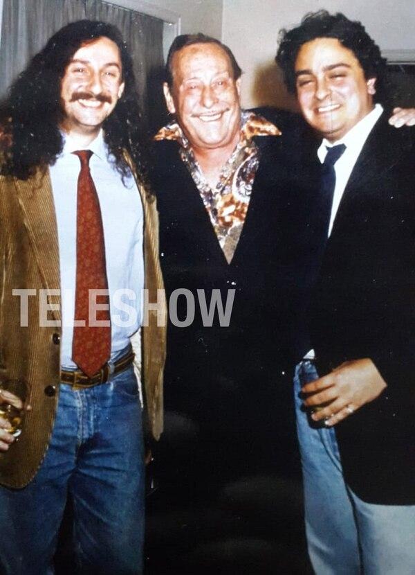 Fernando Olmedo, El Polaco Goyeneche y Javier Olmedo