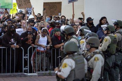 Protestas por abuso policíaco