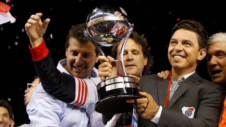La Copa Sudamericana 2014 fue el primer título que ganó como DT (Foto: Getty Images)