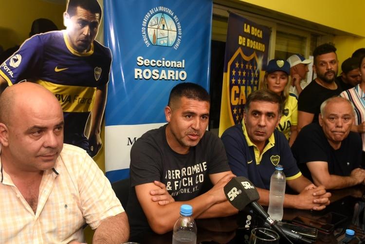 """Este es el peor mandato en la historia del club"", manifestó Riquelme (Télam)"