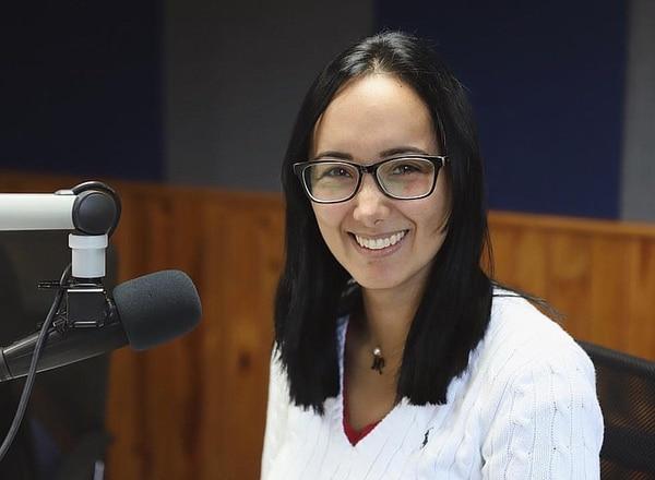 """Marisela Castillo Apitz, coautora con Daniel Palacios Ybarra de """"Cuando los medios son noticia""""."""