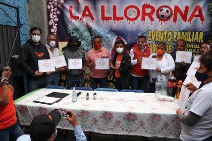 """""""La Llorona"""" era un espectáculo gratuito; sin embargo, organizadores indicaron que desde hace un par de años el gobierno local decidió cobrar por ello (Foto: Movimiento Ciudadano)"""