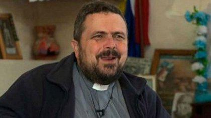 "Guillermo ""Willy"" Torre, párroco de la capilla Cristo Obrero de la Villa 31"