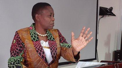 Dorothy Gwajima, ministra de Salud de Tanzania