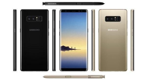 Se filtraron (casi) todos los detalles del Samsung Galaxy Note 8
