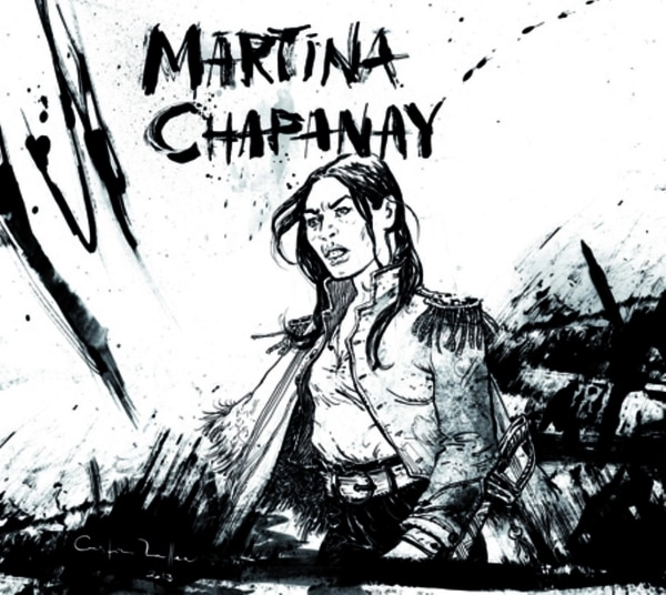 Martina Chapanay (Ilustración Cristian Mallea)