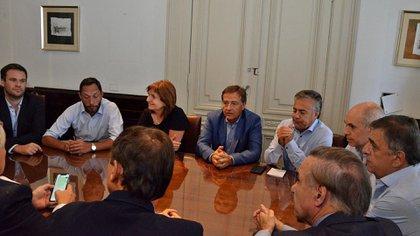 Cornejo integra la mesa chica de la conducción de Juntos por el Cambio