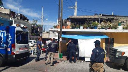 Cinco policías de investigación de la FGJEM fueron acribillados en Ixtapan de la Sal, Edomex (Foto: Twitter/loba_indomable)