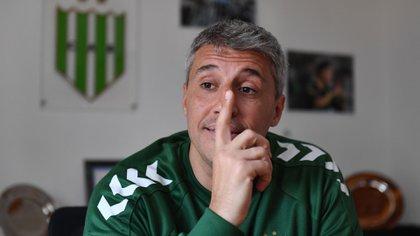Valdanito reconoció que la actitud que demostraron los jugadores en la cancha fue positiva (Maximiliano Luna)
