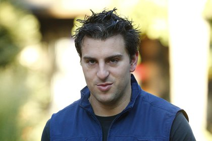 The head and co-founder of the vacation rental platform Airbnb, Brian Chesky (EFE / Andrew Gombert / Archive)