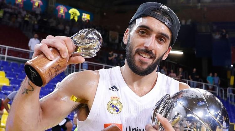 Real Madrid conquistó Europa de la mano de Facundo Campazzo