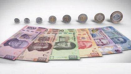 El salario mínimo en el país es de 123.22 pesos diarios, mientras que para la zona franca de la frontera norte es de 185.56 pesos diarios (Foto: YouTube Banco de México)