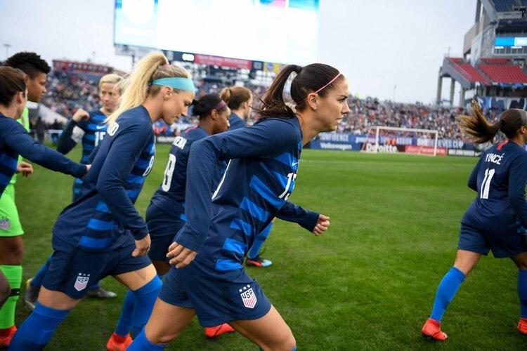 official photos 2333d ef97c Las integrantes de la selección femenina de Estados Unidos demandaron a la  federación de su país