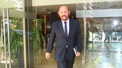El gobernador Insfrán fue denunciado ante la Justicia Federal (foto Maximiliano Luna)