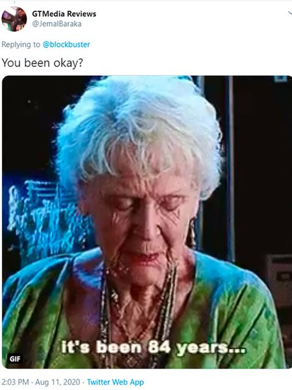 """""""Han pasado 84 años. ¿Has estado bien?"""""""