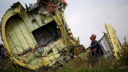 El avión de Malaysia Airlines fue derribado el 17 de julio de 2014 (Reuters)