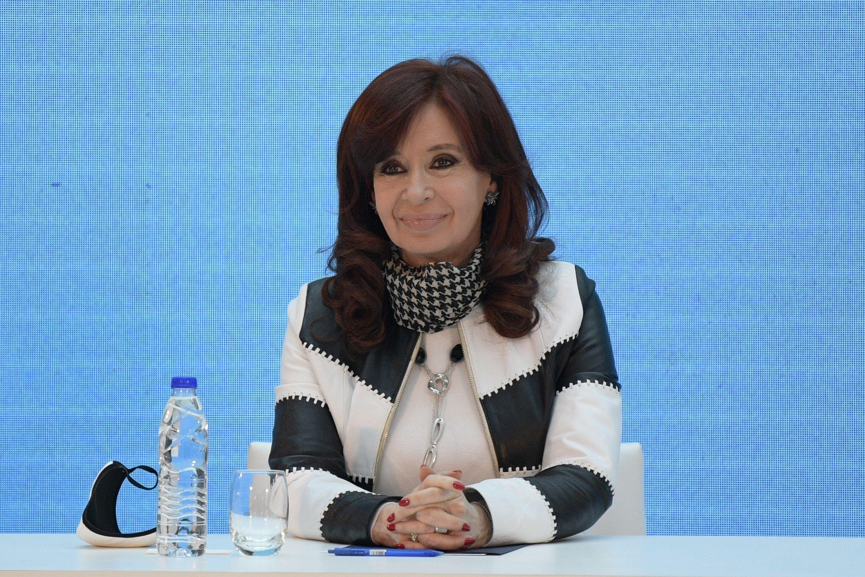 La vicepresidenta Cristina Kirchner. (EFE/ Juan Mabromata/Archivo)