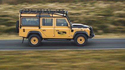 El Camel Trophy que duró veinte años fue uno de los emblemas de este modelo (Land Rover)