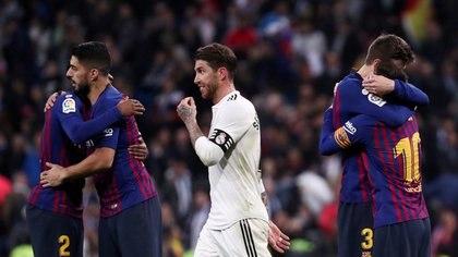 El Barcelona lidera en cantidad de victorias 96 a 95 - REUTERS/Sergio Perez/File Photo