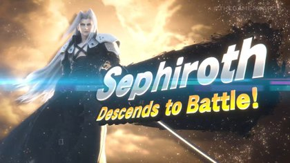 Sephiroth, el antagonista de Final Fantasy VI, se sumará a Super Smash. Bros como nuevo personaje jugable