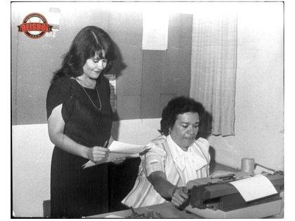 A Ana Luisa Perea se le debe el gran acervo de estadísticas (Foto: Cortesía/ LMB/ Archivo Histórico de Béisbol)