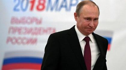 Vladimir Putin fue reelecto como presidente de Rusia (Reuters)