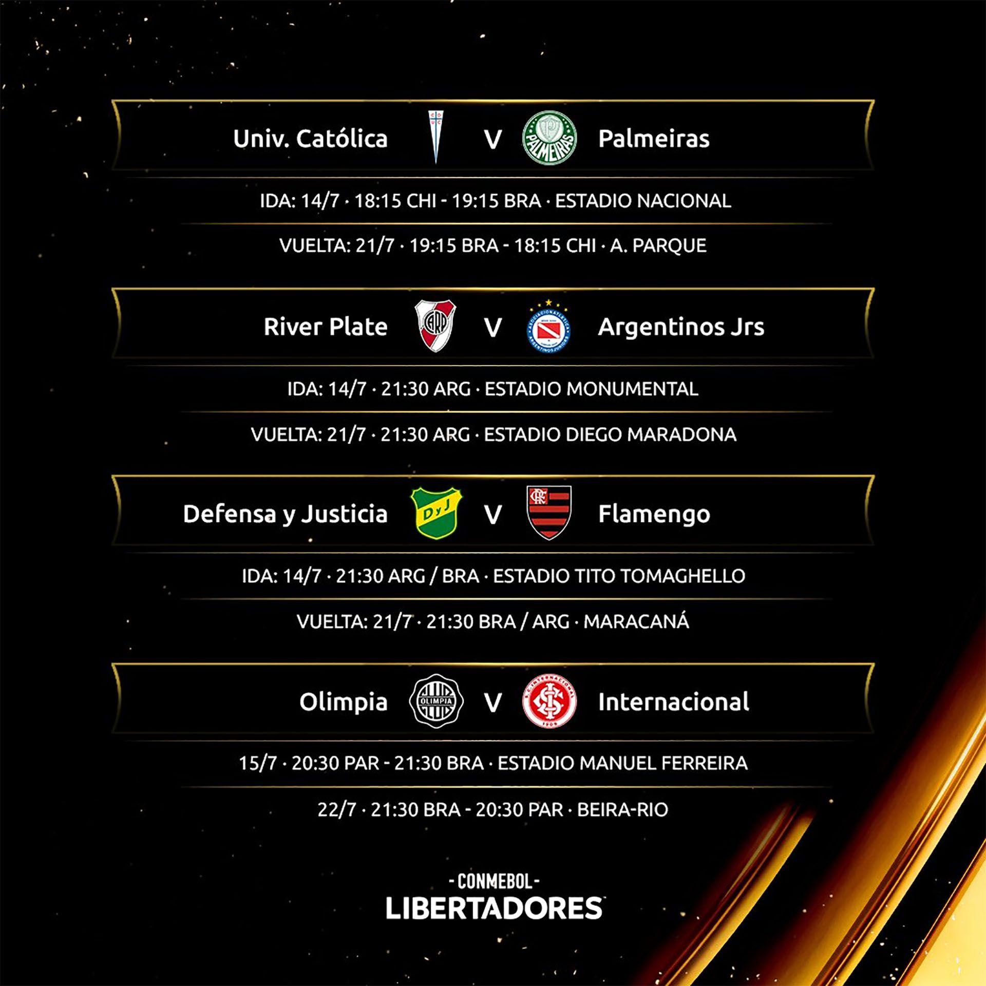 Copa Libertadores fixture