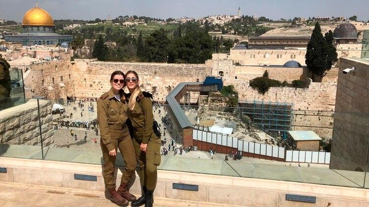 Milena es oficial y comandante en la Sala de Operaciones de la Brigada 300 de las Fuerzas de Defensa de Israel