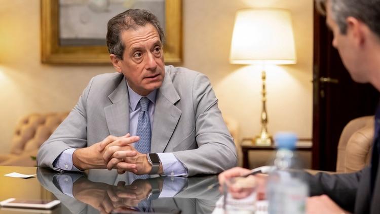 Miguel Pesce, presidente del Banco Central. Otro de los apuntados por el colapso con los pagos.