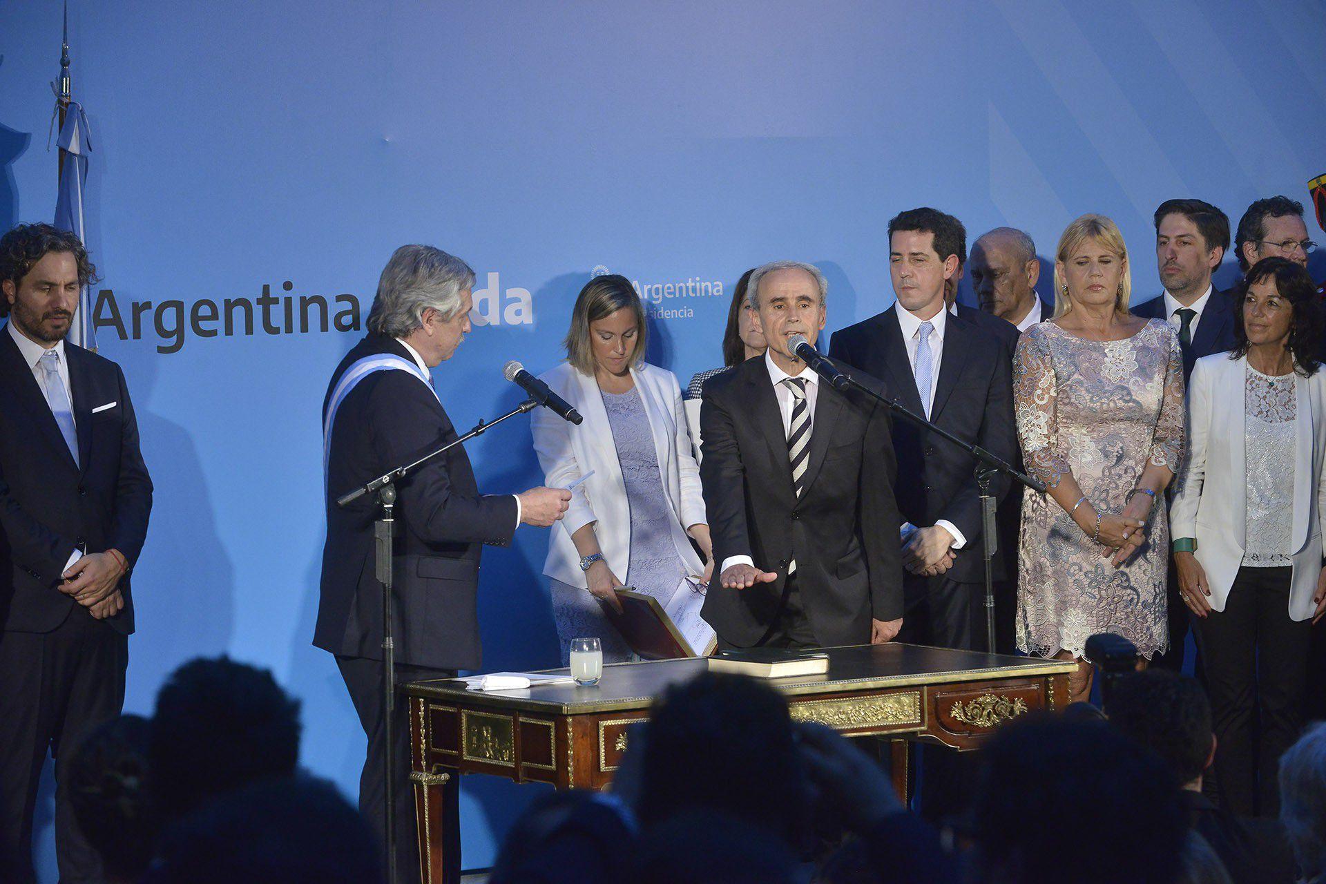El secretario general de la Presidencia, Julio Vitobello (Gustavo Gavotti)
