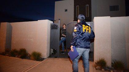 Los allanamientos fueron ordenado por el juez Martínez de Giorgi (OPI Santa Cruz)
