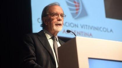Javier González Fraga, presidente del Banco Nación