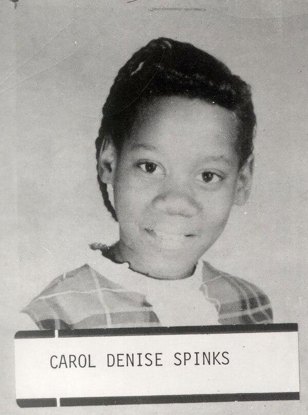 Carol Denise Spinks- Tenía 13 años cuando fue asesinada. Fue la primera víctima de una serie de seis niñas salvajemente ejecutadas (Policía de Washington D.C.)