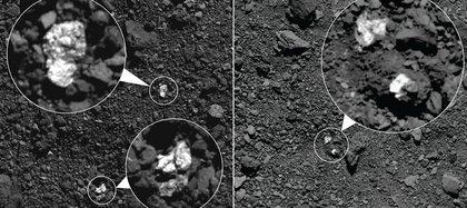 Meteoritos atribuidos a Vesta aparecen en el asteroide Bennu. Científicos creen que pedazos del asteroide Vesta, segundo cuerpo en masa del cinturón de asteroides, terminaron en el asteroide Bennu, según las observaciones de la nave espacial OSIRIS-REx de la NASA.