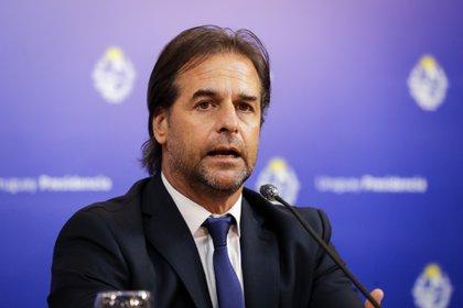 Luis Lacalle Pou, presidente de Uruguay (EFE/Raúl Martínez)