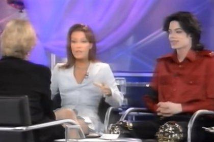 En 1995, ambos participaron de una entrevista televisiva juntos con la reconocida periodista Diane Sawyer (Captura YouTube)