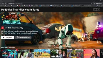 Netflix cuenta con una gran variedad de contenido dividido por categorías y subcategorías