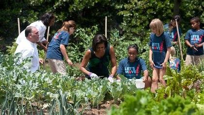 Michelle Obama: glamour y acción social. Casa Blanca 162