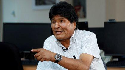 """Morales dijo que tiene """"mucho miedo"""" a que estalle en Bolivia una guerra civil por lo que hizo un llamamiento este domingo para que sus compatriotas acaben de inmediato con los enfrentamientos"""