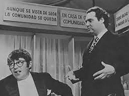 """Tato Bores y Federico Peralta Ramos, por donde el dandy porteño pasó y comió los famosos tallarines: """"Soy una estrella porque salgo de noche"""", dijo"""