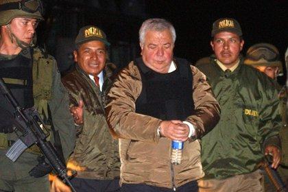 Gilberto Rodriguez Orejuela cuando fue captura y extraditado a los Estados Unidos.
