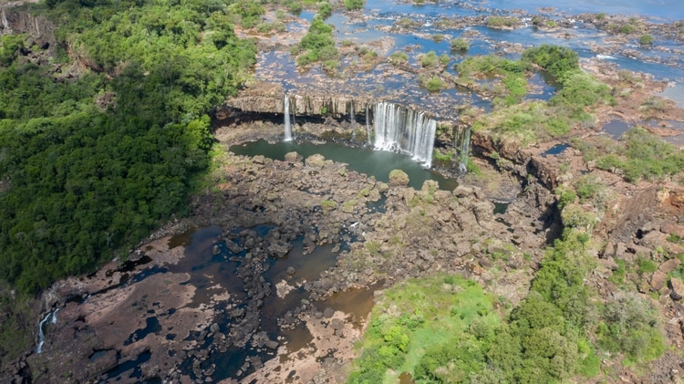 Se cree que la sequía en la cuenca donde nace el Río Iguazú se prolongará hasta finales de mayo